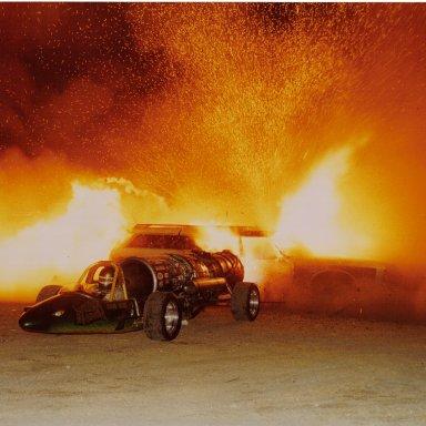 1989 Atco Doug Rose Car Burn