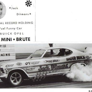 1970 Jack Ditmars Der Mini Brute AFC