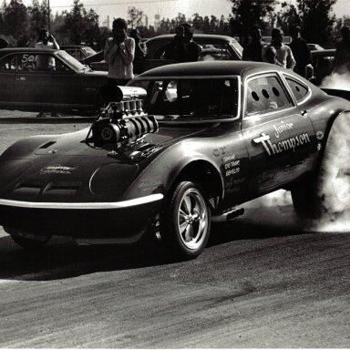 1970 Jr Thompson AAGS Opel GT