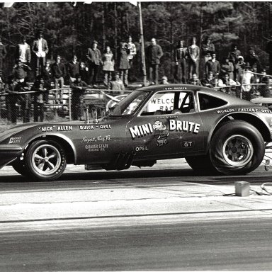 1972 Dan Smoker Mini Brute Opel GT AFC