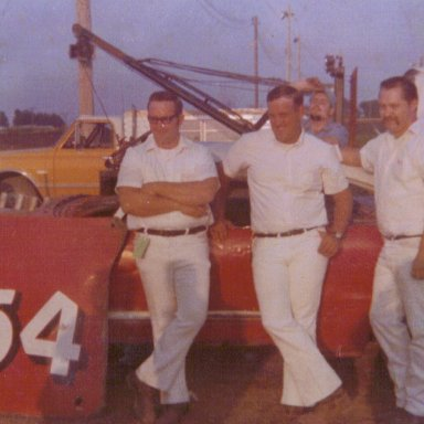 Dad and crew
