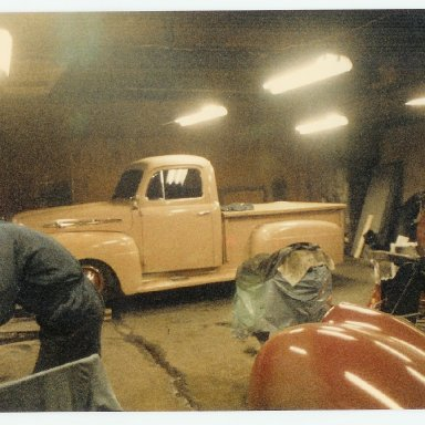 51 Ford truck and 39 Ford