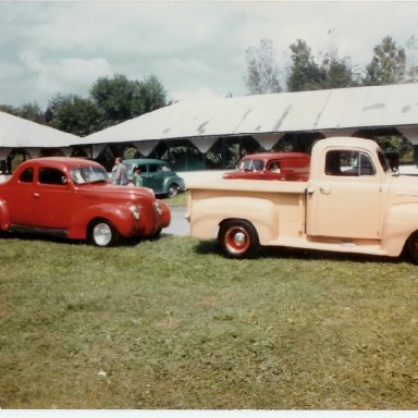 51 Truck and 39 coupe at Cumberland