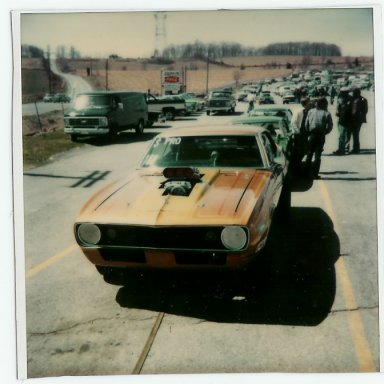 Howes' blown Camaro 75-80