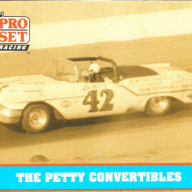 1957 Lee Petty in Convertible Series