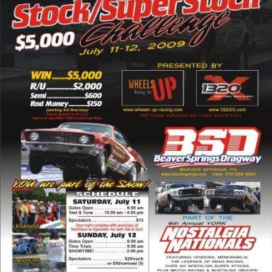 $5,000 Stock/Super Stock Race