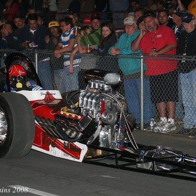 """Dave Uyehara - """"Jim Herbert"""" car in Cacklefest at 2008 CHRR"""