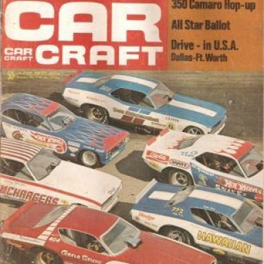 December 1969 Car Craft Cover