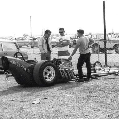 Tom Hoover -1965 AHRA Winter Nationals... Beeline