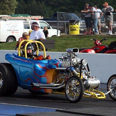 Charles Overfelt -Blown Flathead Roadster from Roanoke - 16 May LGN VMP