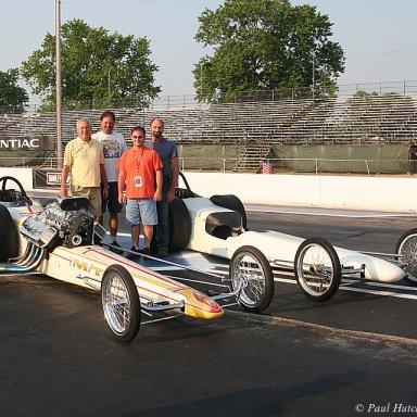 Jerry Baltes, Don Moyer, Mike and Jim Urbanek-Columbus NHRR 2007