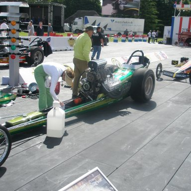 """The Beebe Mulligan car was really """"crisp"""" sounds like a jr fueler"""