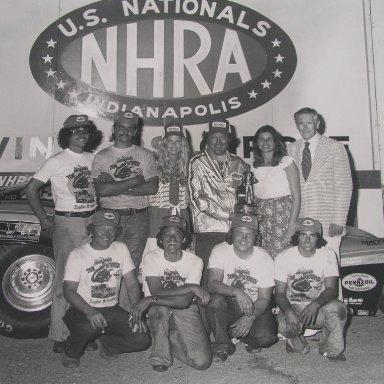 1978 NHRA U.S. Nat's Funny Car Champs