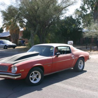 Bryan's 1975 Camaro with a Frank Townsend Small Block