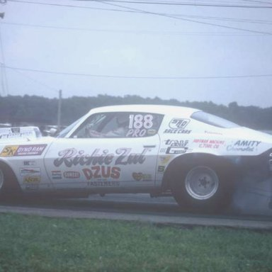 Richie Zul 1974 springnts  photo by Todd Wingerter