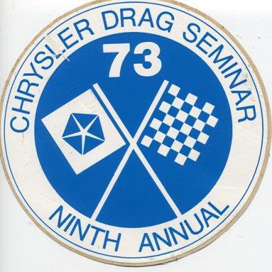 73 Drag Seminar
