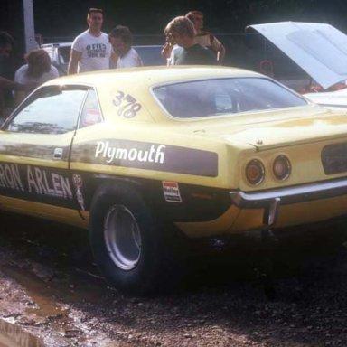 Arlen Vanke 1972 dragway 42 pits  photo by Todd Wingerter