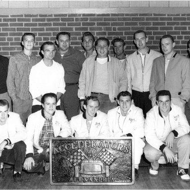Accellerators Club Alex Va. 1950s