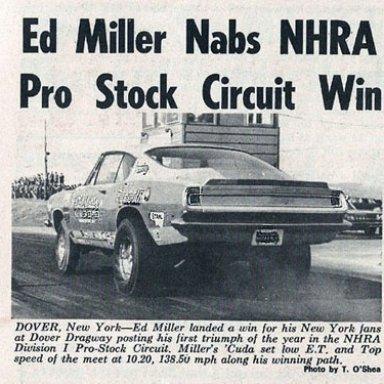 1970 National Dragster - 68 Hemi Cuda
