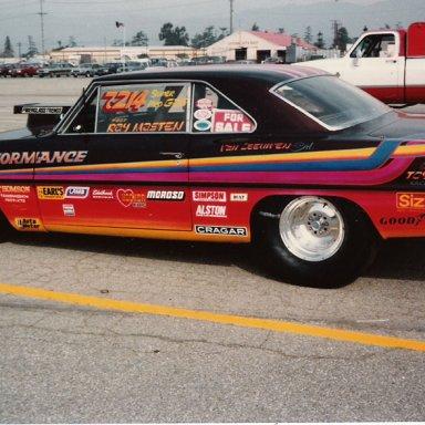 Ray Masten super gas Nova 1986 Wintrnationals