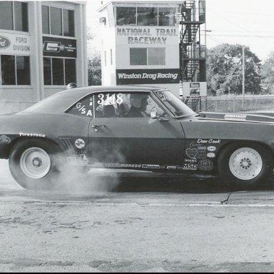 Jim Griffith g-sa 69 Camaro 85 Columbus  ss-stk race