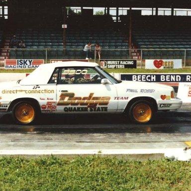 tk3300 ef-sa Dodge 600 1986 Sportsnts