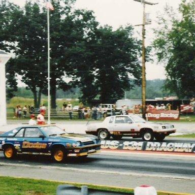 tk 3300 fwd Dodge vs Bill kissinger 88 Olds m-sa1985 PHR Meet