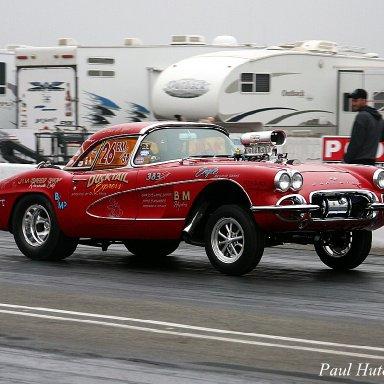 """""""Duck Tail Express"""" Corvette-2009CHRR"""