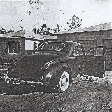 Original 1939 Ford Hemi powered coupe