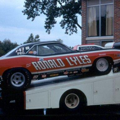 Rapid Ronnie Lyles Cuda 1972
