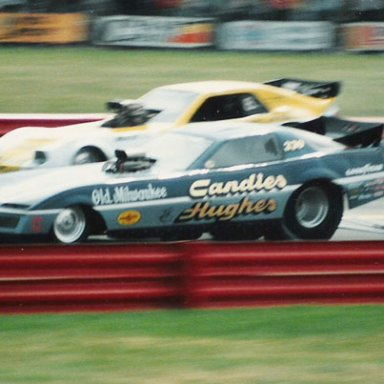 1983 INDY Mark Oswald in Candies & Hughes