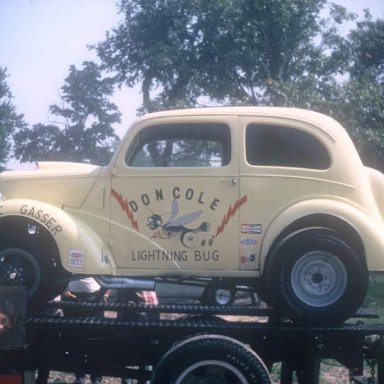 Don Cole C-g Anglia 1968 Dragway 42  photo by Todd Wingerter