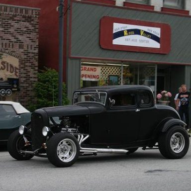 My 32 Ford Five Window Coupe