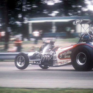 Gretchko Bros Coming down 1973 Dragway 42  photo by ToddWingerter