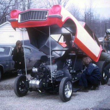 Hart Automotive Vega aa-gs 1971 Dragway 42   photo by Todd Wingerter