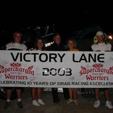 Victory Lane