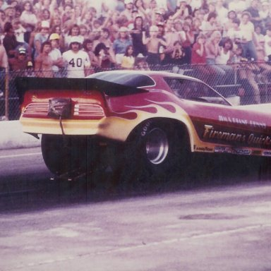 Jim Dunn's Firebird Funny Car