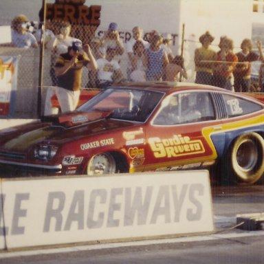 Gordie Rivera's Pro Stock Monza