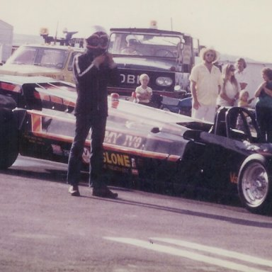 Tommy Ivo's jet dragster