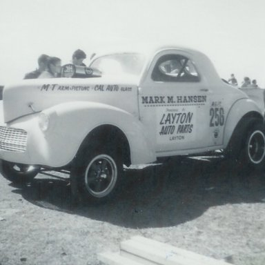 Mark Hansen A/GC at Bonneville Drag Strip in May 1965