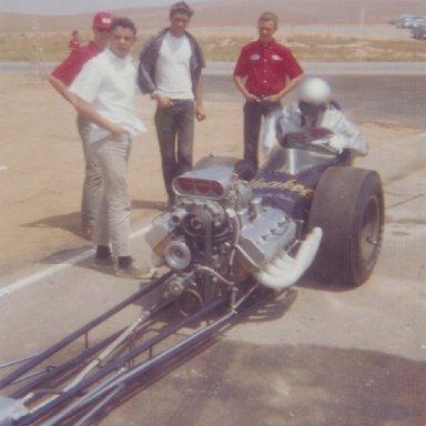 "Tom ""Mongoose"" McEwen at 1965 HRM Championships"
