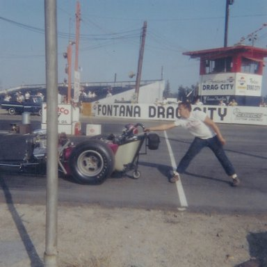Wild Bill Alexander at Fontana in August 1965