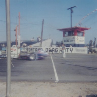 Crower & Blair at Fontana in August 1965