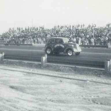Skip Hess at Irwindale in Dec. 1965