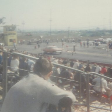 "Don Nicholson's First Run-Ever in his ""Eliminator I"" funny car"