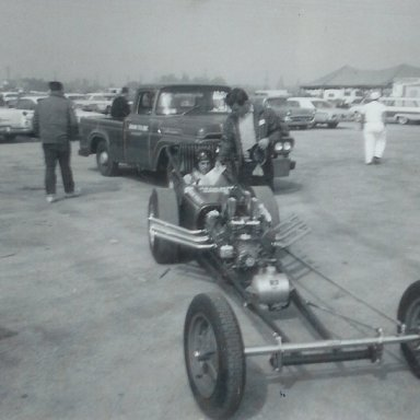Jackman Special dragster at 1963 Winternationals
