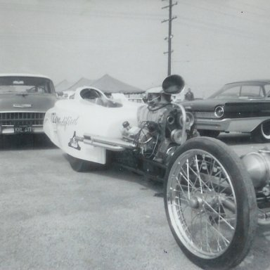 Roland Leong drove this modified roadster at the 1963 Winternationals