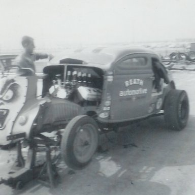 A&M Racing Team coupe at 1963 Winternationals