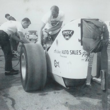 Porter-Ries Olds A/FD at 1963 Winternationals
