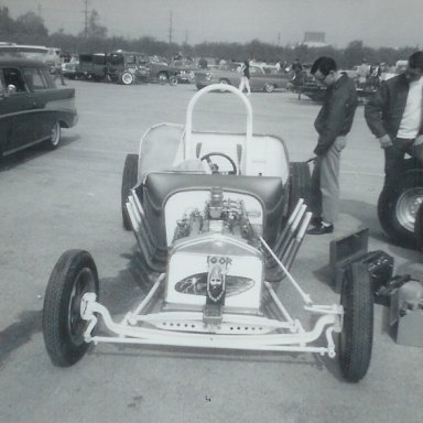 Igor T roadster at 1963 Winternationals